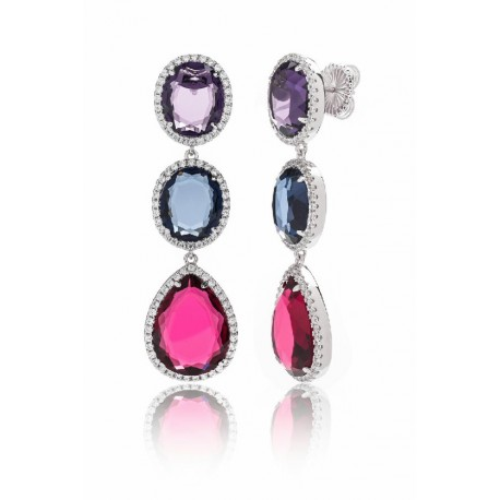 Pendientes Camaleoni Cocktail Multicolor