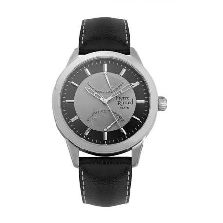 Reloj Pierre Ricaud Calendar Negro