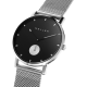 Reloj Meller Maori Black Silver 38mm
