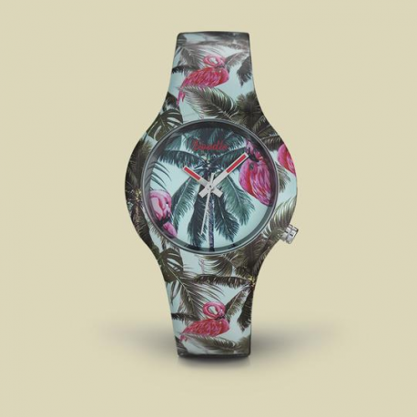 Reloj Doodle Tropical
