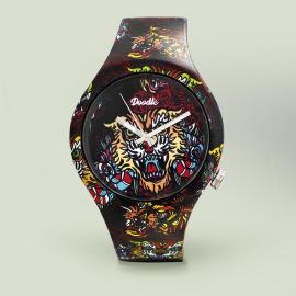 Reloj Doodle Oriental Tiger