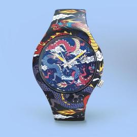 Reloj Doodle Dragon Fighter