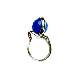 Anillo Agatha Azul