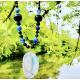 Collar Plata Agatha Matríz Azul