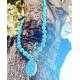 Collar Angelitas y Plata Vermeil